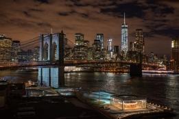 brooklyn bridge park skyline, Dumbo. Brooklyn, NYC